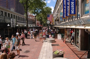 Faneuil Hall Market Place in Boston