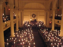 Candlelight Service at Arlington Street Church