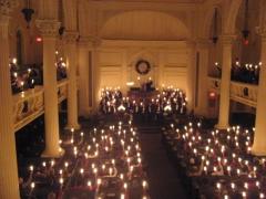 Candlelight Service at Arlington Street Church