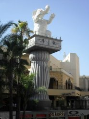 Hollywood & Highland Elephant Totems
